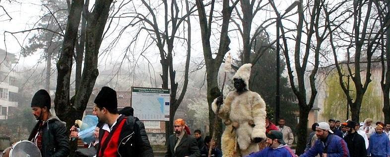 Община Малко Търново представи автентично изпълнение на обреда Кукер без маска