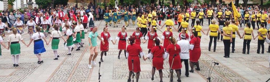 """Национален фолклорен фестивал """"Хоро в Странджа 2018 г"""""""